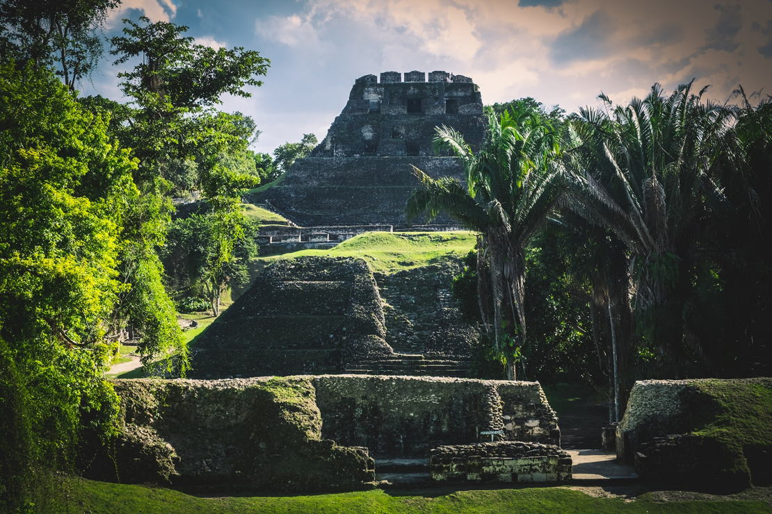 Belize Mayové Xunantunich
