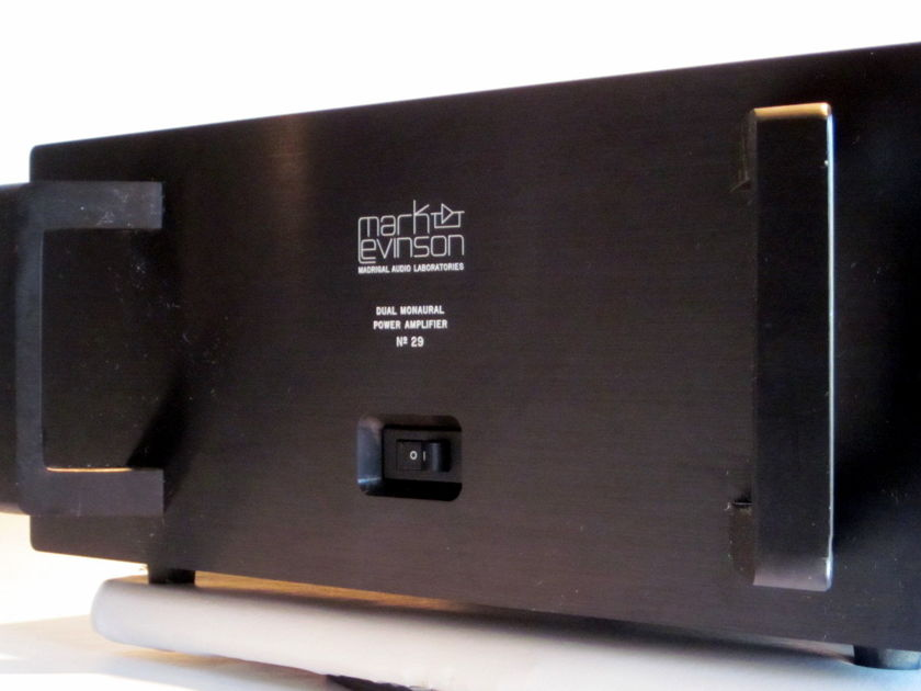 MARK LEVINSON  No. 29 Dual Monaural Stereo Power Amplifier