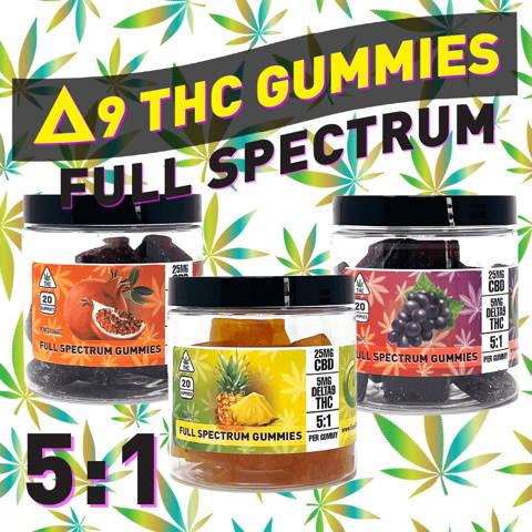 Shop Delta 9 Gummies