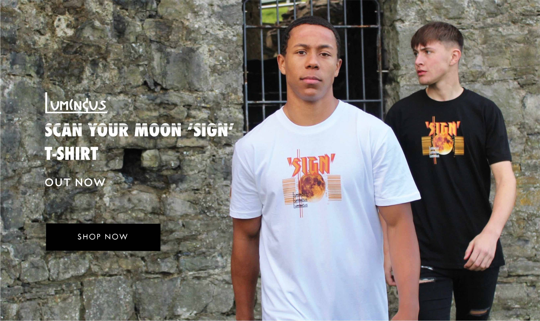Luminous Scan Your Moon Sign T-shirt - Shop Now