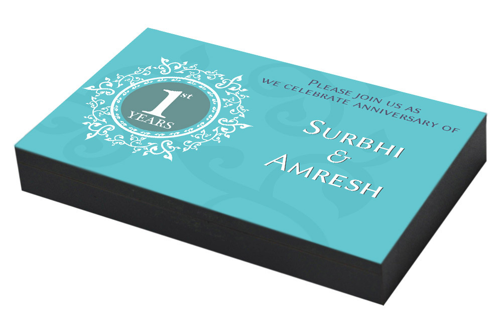 Customised 1st Anniversary Invitation In India