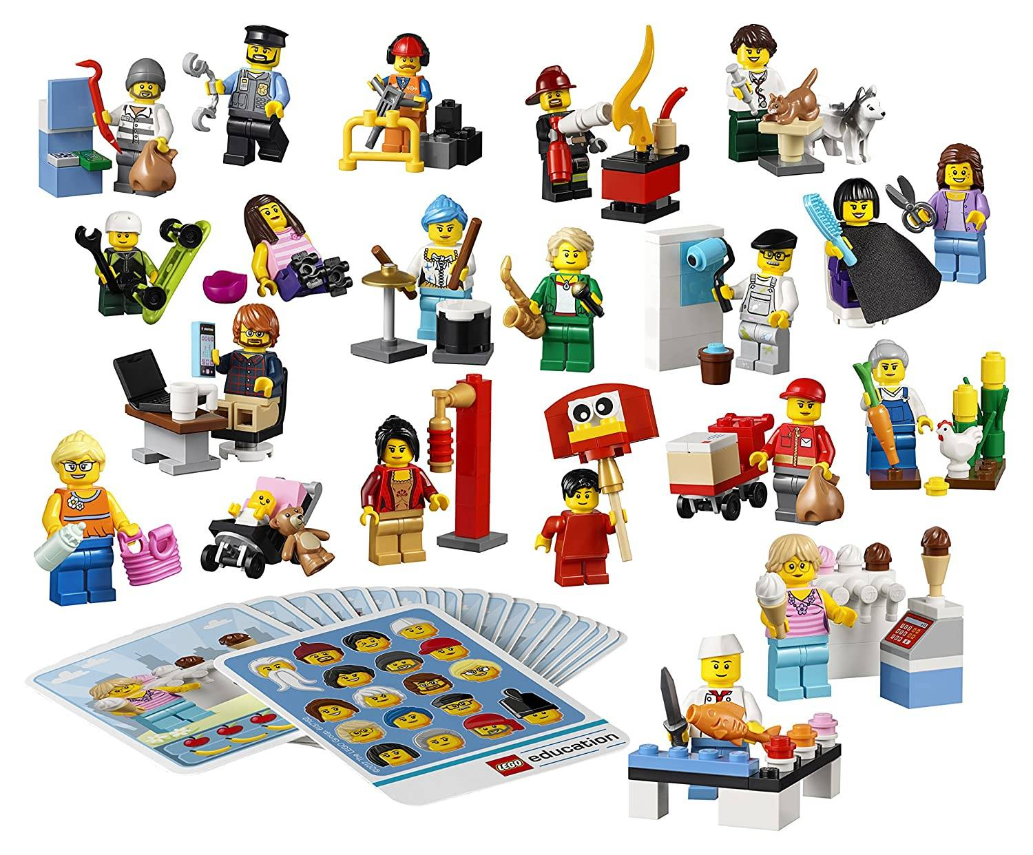 LEGO occupation Minifigures