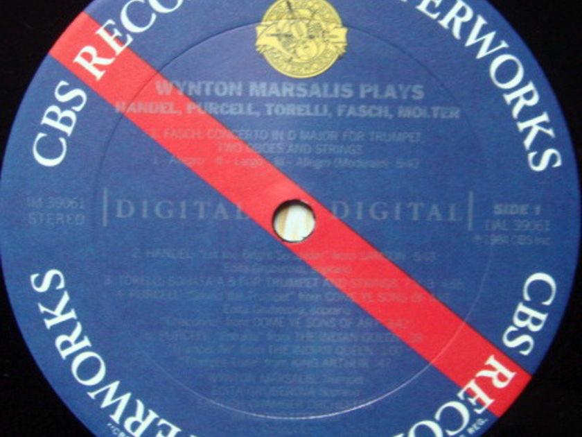 CBS Digital / MARSALIS, - Fasch Concerto for Trumpet, MINT!