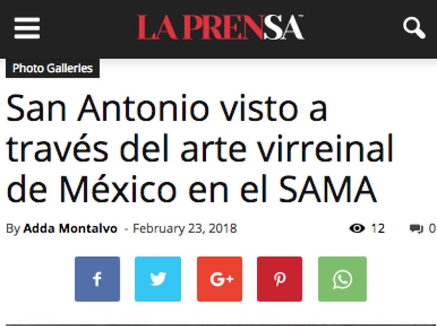 La Prensa, SA, 1718