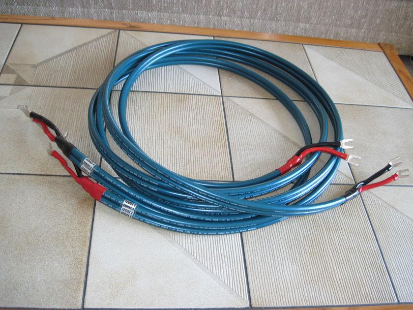 WIREWORLD   ATLANTIS III++ Series 5 3 Meter Loudspeaker Cables with Spades