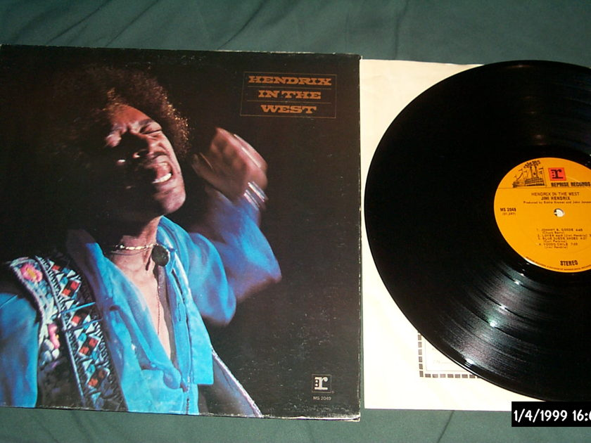 Jimi Hendrix - In The West First pressing lp nm