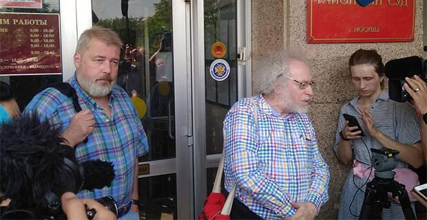 Дмитрий Муратов и Алексей Венедиктов решили поручиться за Ивана Голунова - Новости радио OnAir.ru