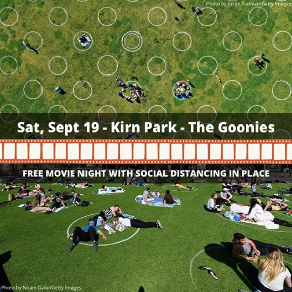 Picture of The 712 Initiative is hosting a community movie night in Kirn Park on Saturday September 19. Join us to watch the Goonies!