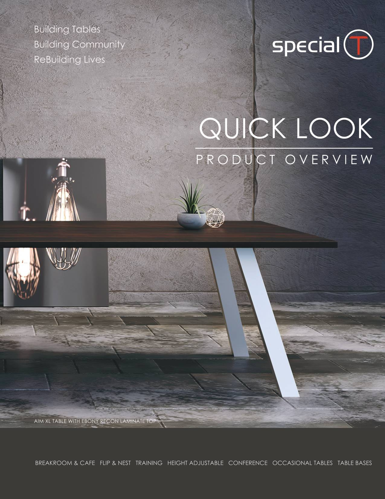 Special T Furniture Product Overview Brochure