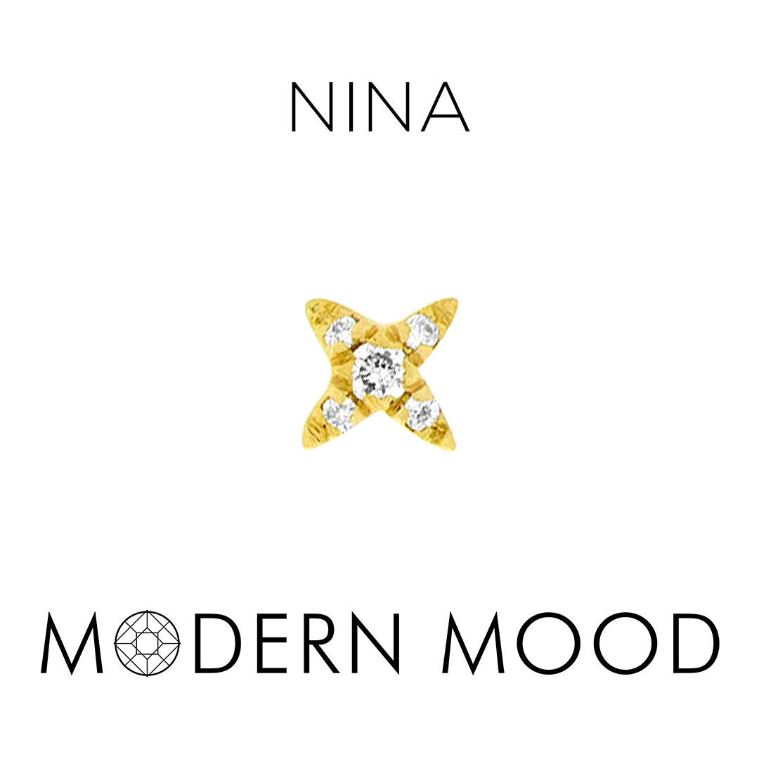 nina x diamond piercing jewelry