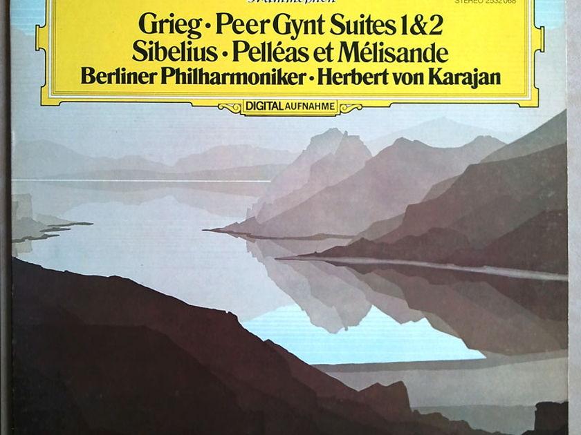 DG/Karajan/Grieg Peer Gynt Suite - Nos. 1 & 2, Sibelius Pelleas and Melisande / NM