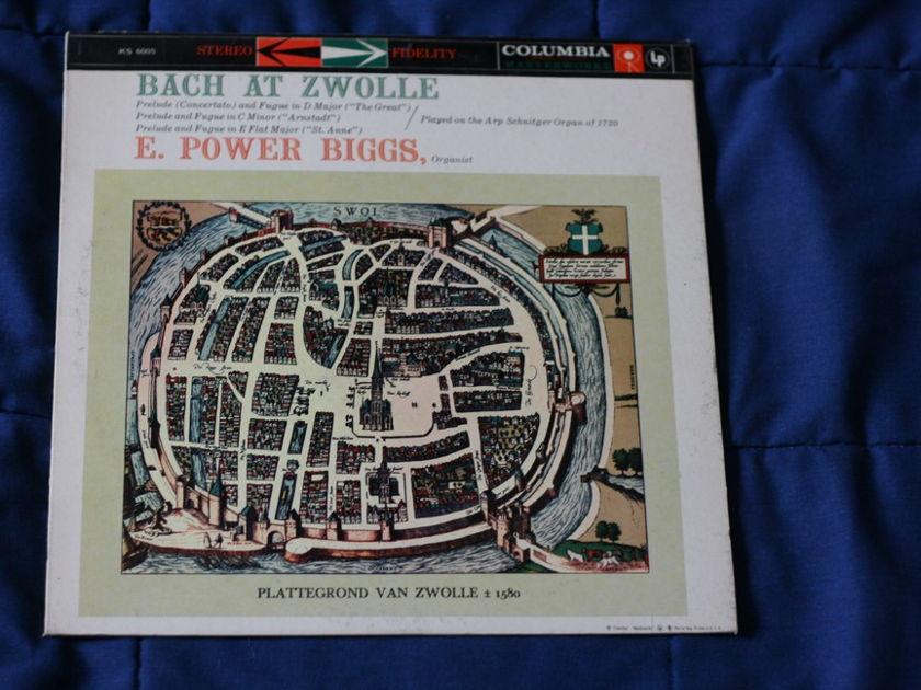 E. Power Biggs - Bach At Zwolle Columbia KS 6005