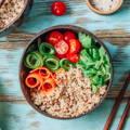 Coconut Bowls Healthy Salad - GiveMeCocos