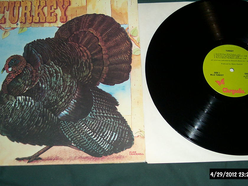 Wild turkey - Turkey lp nm