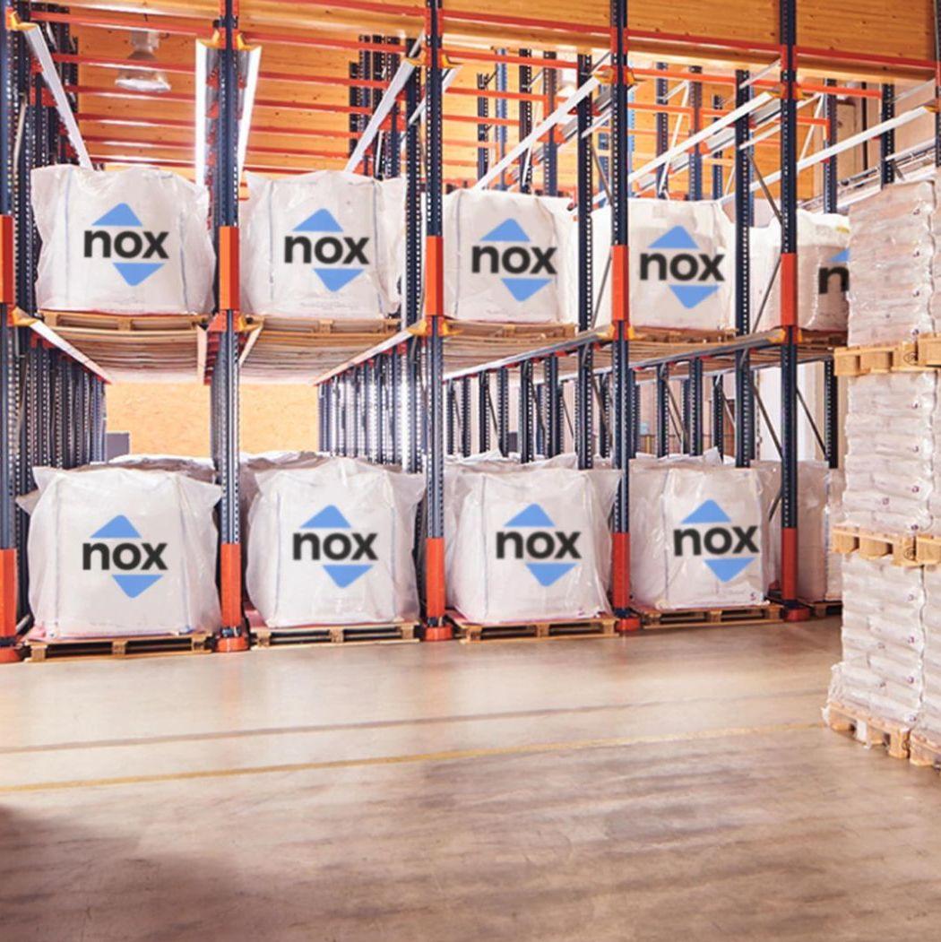stockage rack en big bag Nox