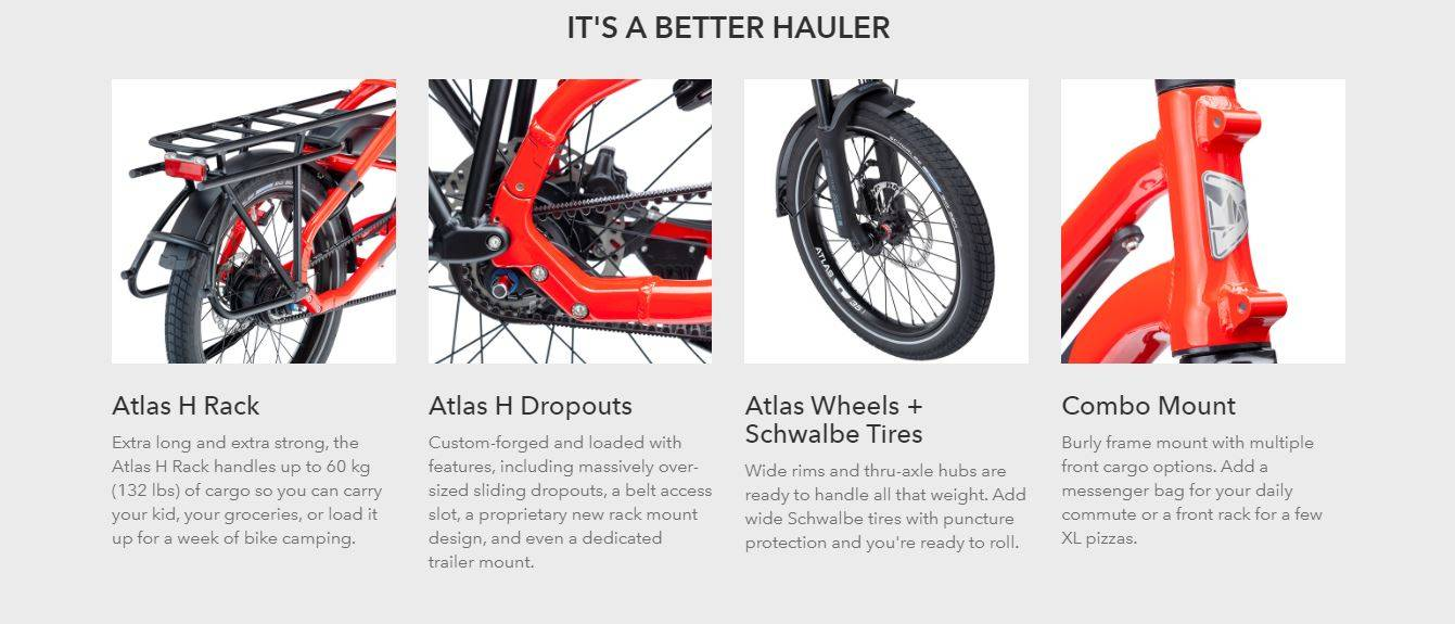 Tern HSP P9 Cargo Bike - Better Hauler