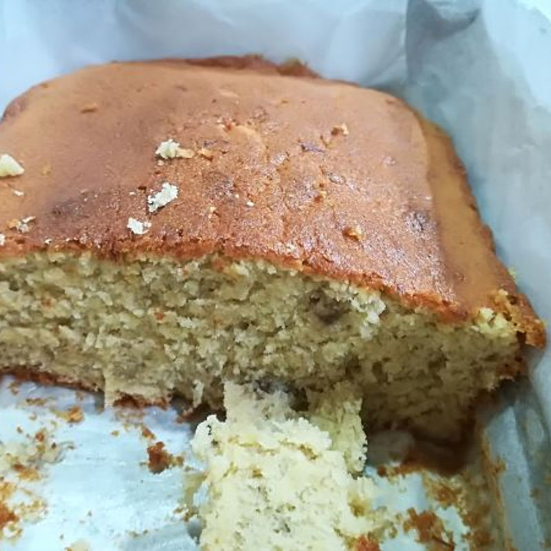 The resepi it great. My banana cake very smooth