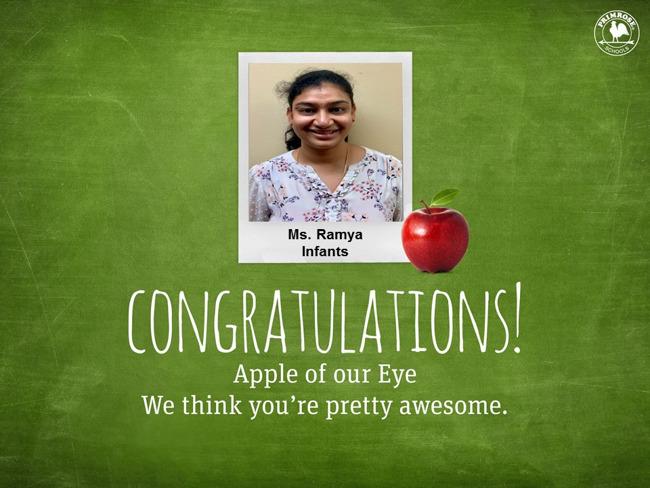 Ms. Ramya