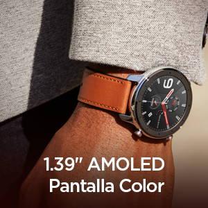 Amazfit GTR 47 mm - Pantalla AMOLED y widgets editables