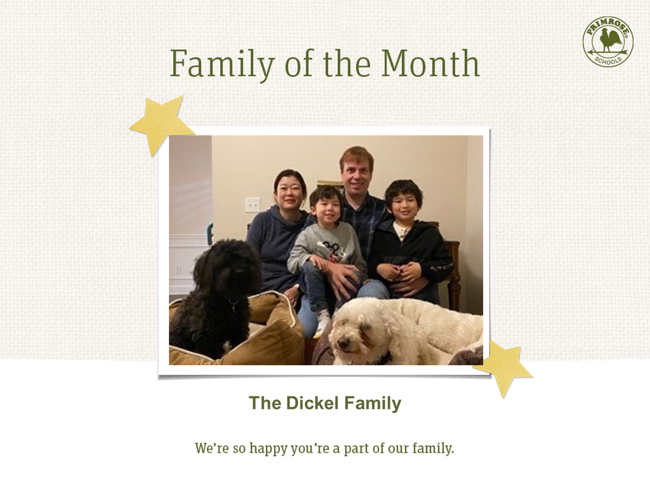 Celebrate with the Dickel family, our Family of the Month