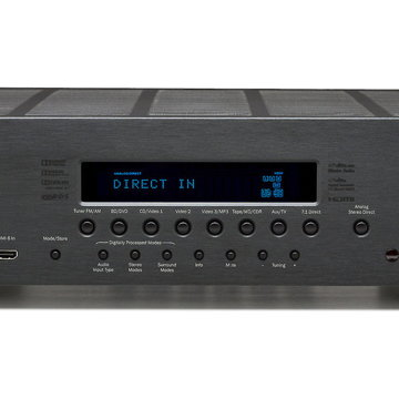Azur 551R V1 7.1 AV Receiver (Black):