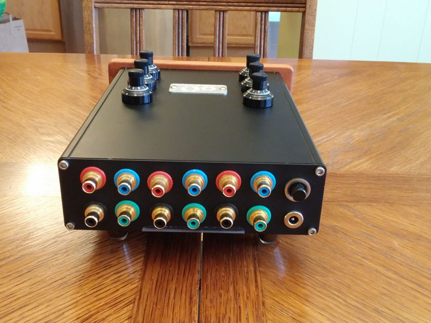 Warpspeed  V24 LDR Volume Control State of the Art 2 or 6 channel volume control