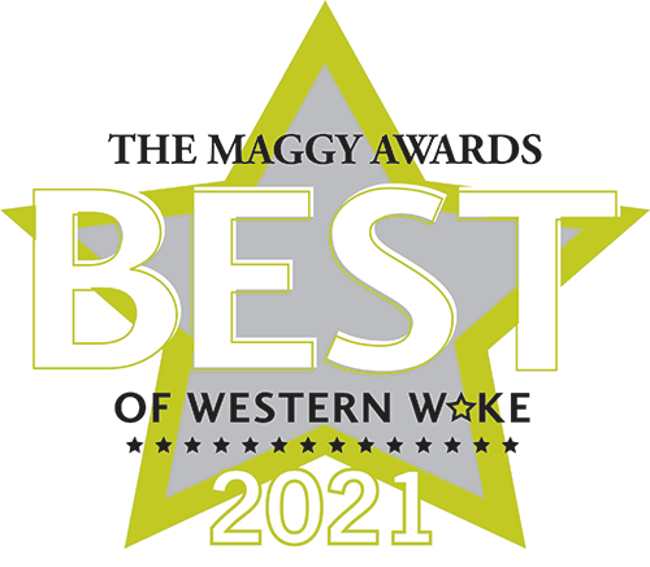 """Primrose students hold up letters that spell out """"BEST""""; maggy award; primrose"""