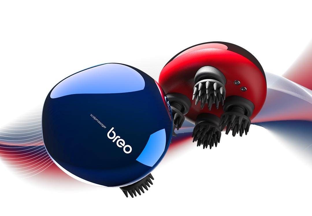 Breo Scalp mini massager