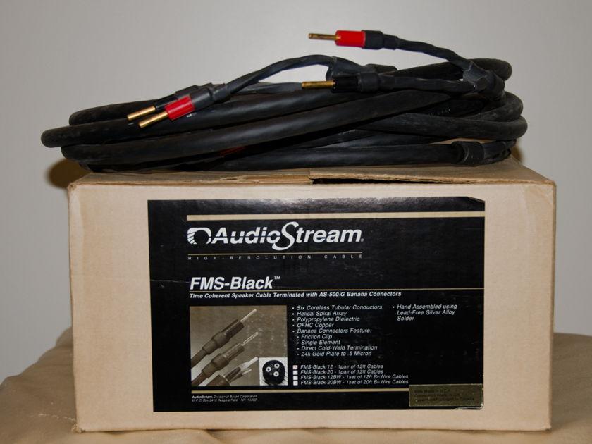 AudioStream FMS-Black Speaker Cables