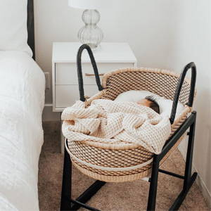 basket bassinet crib