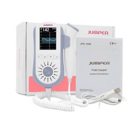 Détecteur de rythme cardiaque Doppler foetal bleu packaging
