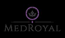 Med Royal logo with a crown emblem