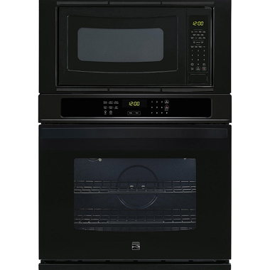 KENMORE 30″ WALL OVEN/MICROWAVE- BLACK