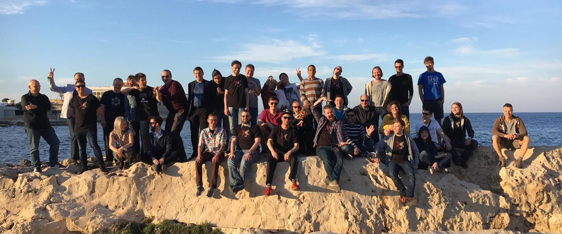 IOHK Team in Malta