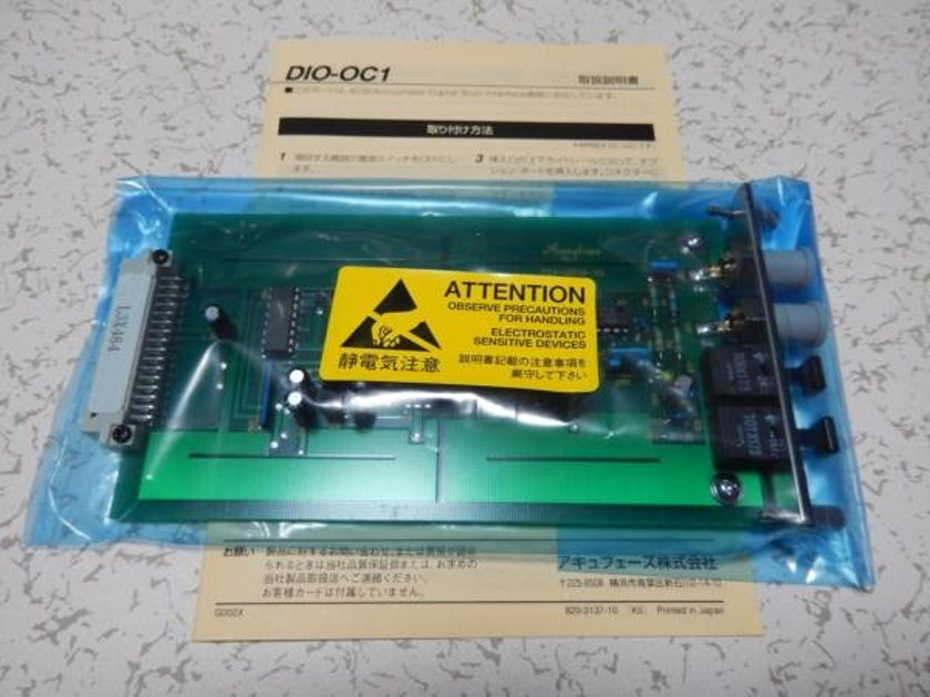 ACCUPHASE DIO-0C1 DIGITAL INPUT OPTION BOARD IN GREAT CONDITION