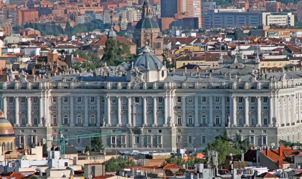 С небес на землю Мадрида