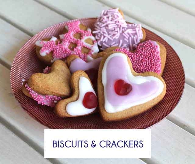 Gluten Free Biscuit and Cracker Recipes - Happy Tummies