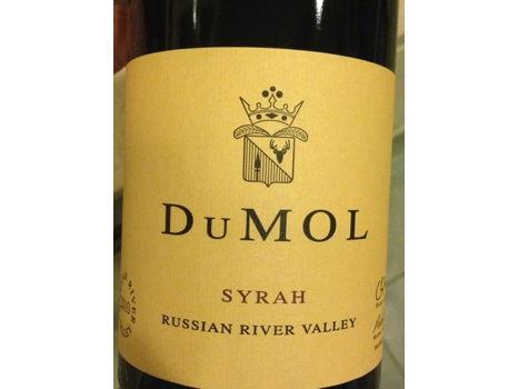 DuMOL Russian River Valley Syrah 2011