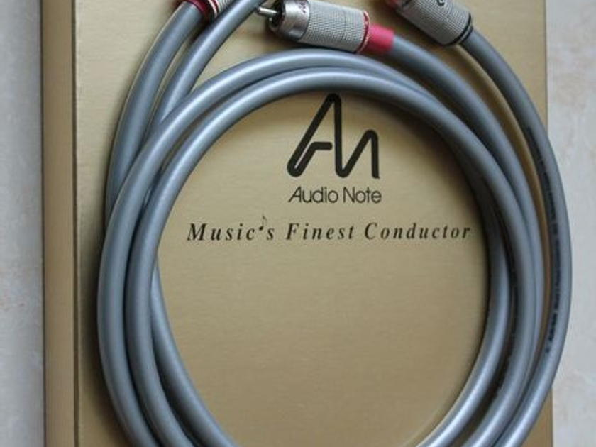 Audionote ISIS Reference 1m. AN-P RCA plugs
