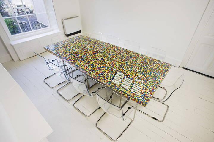 LEGO-Inspired Center Table