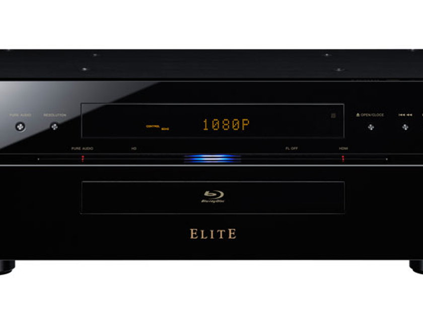 Pioneer Elite BDP-09FD Reference Blu-Ray Disc Player with 16-Bit Video