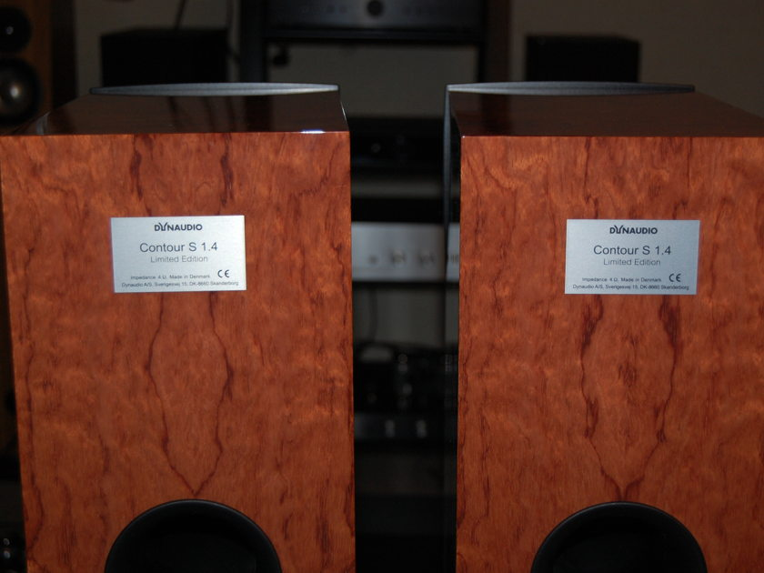 Dynaudio Contour S1.4 Limited Edition Dealer Demo Loudspeakers