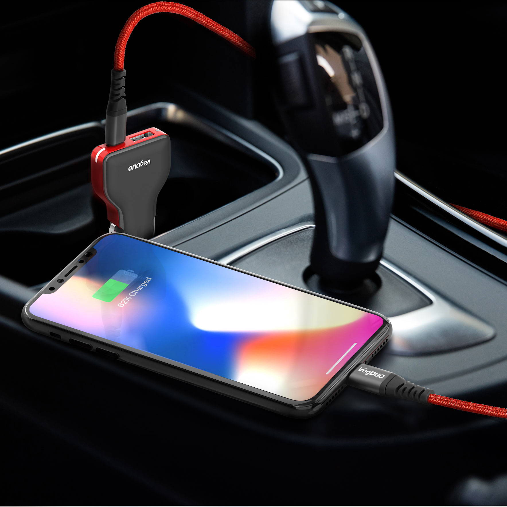 Charge your iPhone In car and travel with no worry