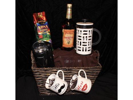 Kona Coffee Basket
