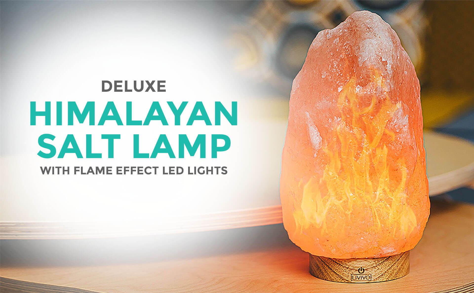 Deluxe Himalayan Salt Lamp