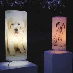 fotbee personalised table lamp with your photos