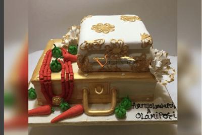 Yellow Velvet Cakes
