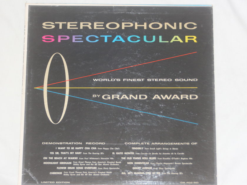 Grand Award - Stereophonic Spectacular GA 402 SD
