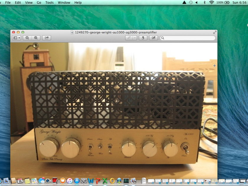 George Wright AU-1000/AG-1000 Preamplifier
