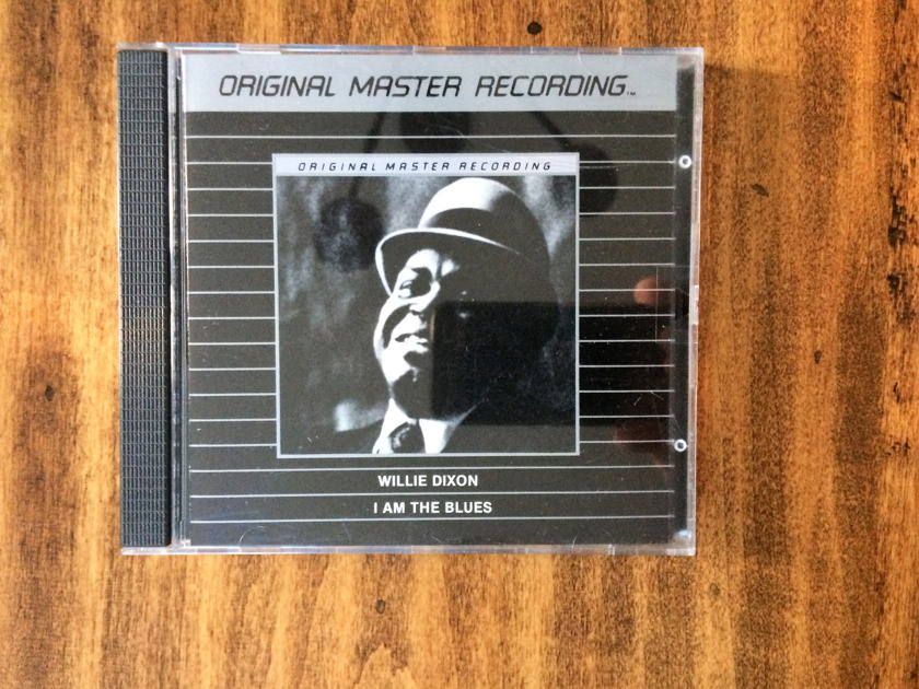 "Willie Dixon - ""I AM THE BLUES"" Mobile Fidelity Sound Labs MFSL Silver - MFCD 872"
